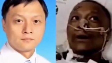 Photo of 武漢兩醫生抗病毒成功臉卻變「黑炭」 專家:肝臟功能異常
