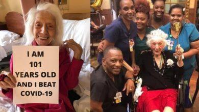 Photo of 人瑞老奶奶挺過西班牙流感、癌症再勝新冠肺炎 女兒讚:她不是普通人!