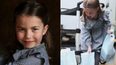 Photo of 英皇室夏洛特公主5歲生日 化身超萌志工為居家隔離長者送餐