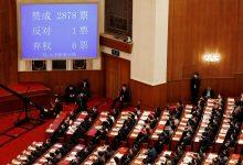 Photo of 港版國安法草案通過 蔡英文譴責北京:已啟動人道援助!