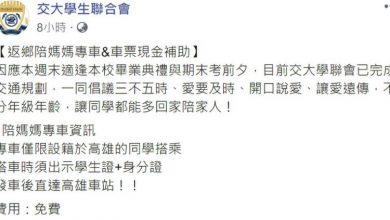 Photo of 交大遭質疑推「罷韓專車」 蔡正元酸:厲害了,我的交大!