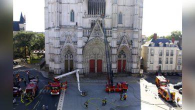 Photo of 又有古蹟教堂祝融!法國南特主教座堂遭縱火 400年風琴焚毀