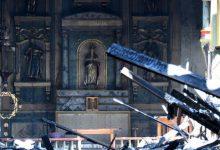 Photo of 美加州249年歷史聖蓋博教堂被燒毀 警推測反種族激進主義者攻擊