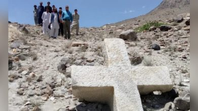 Photo of 巴基斯坦北部喜馬拉雅山發現巨型十架 1200年前有基督徒蹤跡