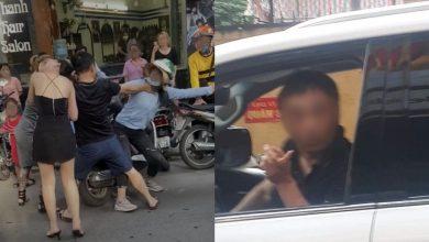 Photo of 正宮當街爆打小三 偷吃夫竟鎖喉回擊遭正義女出拳…網肉搜背景了得